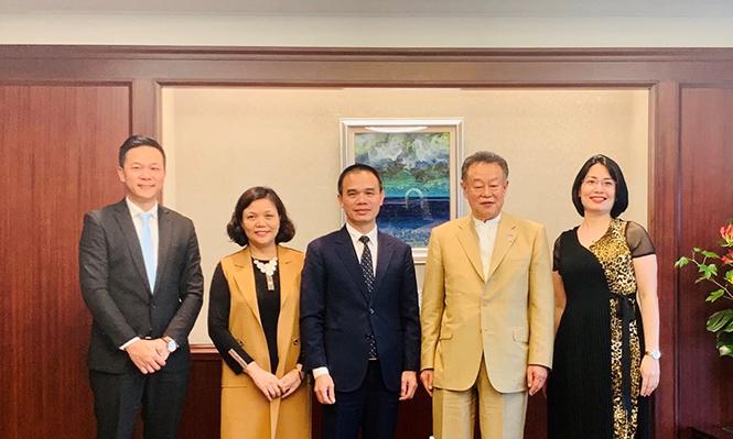 Trường Đại học Hà Nội tăng cường hợp tác với các đối tác Nhật Bản